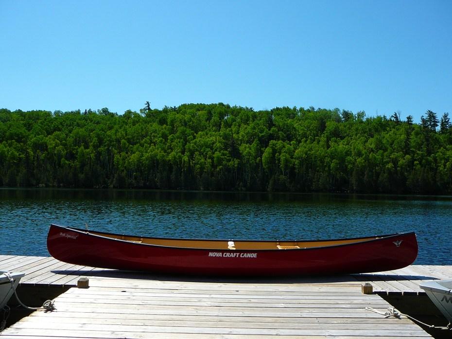 Bob Special Canoe in the BWCA