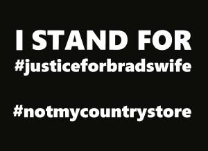 #justiceforbradswife