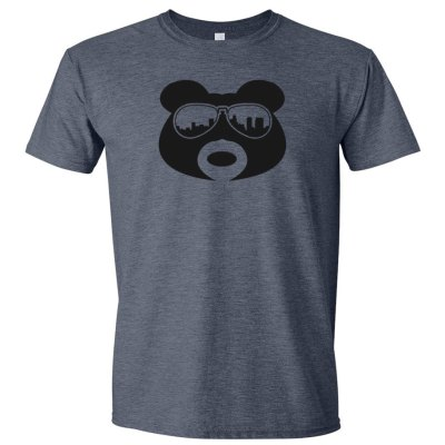 BearThug Heather Navy T-shirt