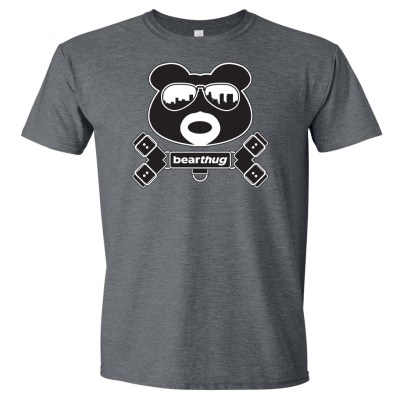 BearThug Harness Dark Heather T-shirt