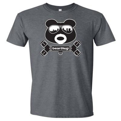 BearThug Harness Dark Heather T-shirt