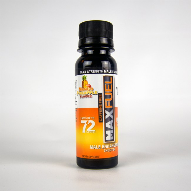 MaxFuel Mango Pineapple Male Enhancement Shooter (Caffeine Free)