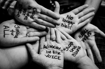 Stop abuse - be artist be art