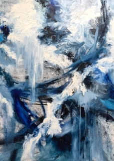 Abstract paintings - by Krisztina Horvath