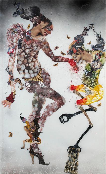 Magical Art - by Wangechi Mutu - be artist be art
