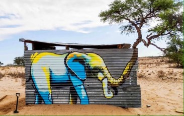 Afrikan Nature #Street Art - be artist be art