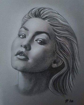 Emotions & Passion by Pencil - Aleksandra Janeković - be artist be art