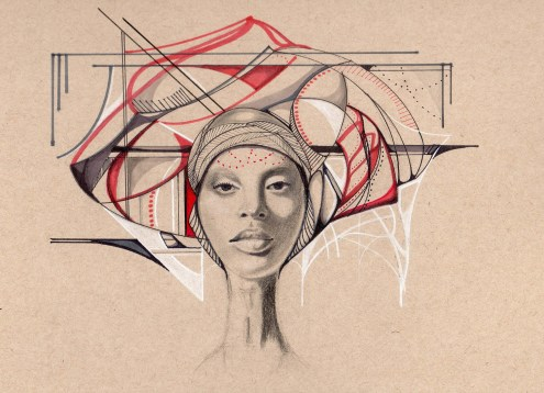 Women Power - Paintings by Ivette Cabrera - be artist be art Magazine