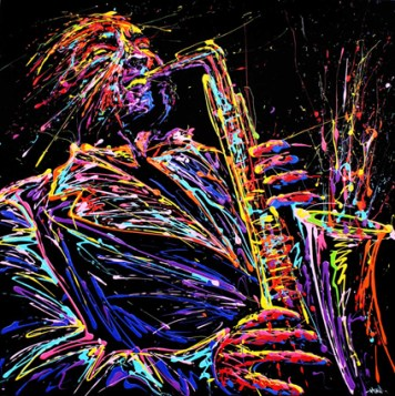 Color Explosions - by Arnaud Florentin a.k.a FLOW Painting