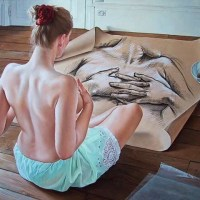 Reflexive Beauty - #Creative #Painting