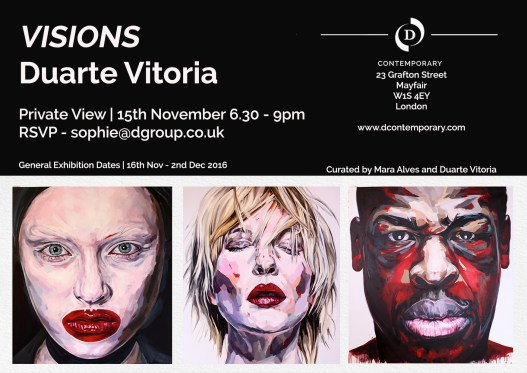 """VISIONS"" by Duarte Vitória - Exhibition by D Contemporary - be artist be art magazine"