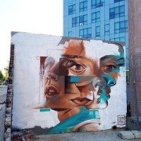 MultiFace - #Creative #StreetArt