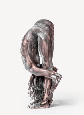 Transfiguration, 3D Human Figures - by Ben Hooper - be artist be art magazine