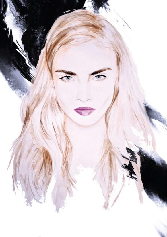 Beauty & Fashion Illustration - Exclusive Interview to Amanda Lee by WHYTT Magazine - be artist be art magazine