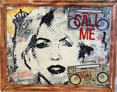 """Music & Art Social Critic Collages - """"Playlist"""" series by Cooltomica - be artist be art magazine"""