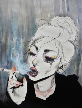Pretty Fears - Beauty Illustrations by Harumi Hironaka - be artist be art magazine