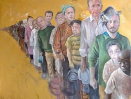 Refugee World leaders, The Vulnerability Series - by Abdalla Al Omari - be artist be art magazine