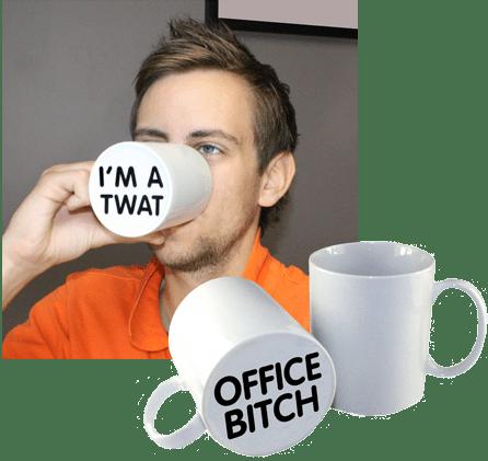 I'm a Twat Coffee Mug