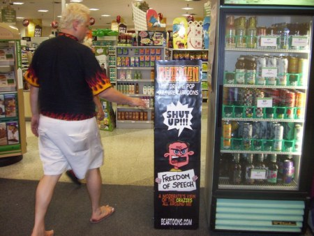 Tripping with Rip shows Bearmania in the Convenience Store
