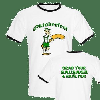 Oktoberfest Grab Sausage Tshirt