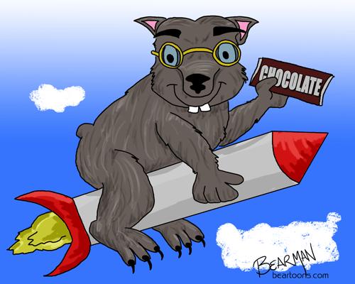 Binky of Wombania.com Cartoon by Bearman of beartoons.com