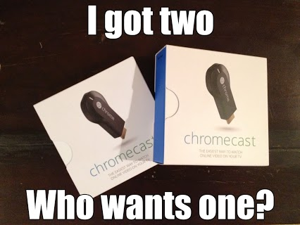 Chromecast Giveaway