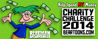 Bearman Cartoons Charity Challenge 2014