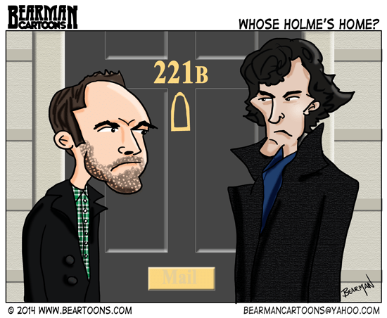 6-7-14-Sherlock-Holmes-Cumberbatch-Miller-Bearman-Cartoons