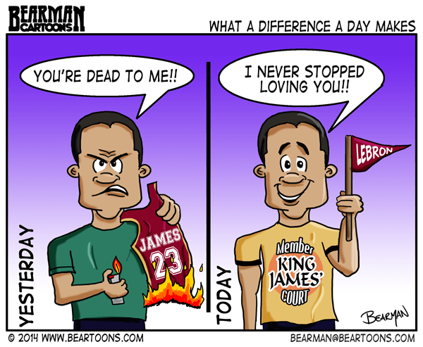 7-11-14-Bearman-Cartoon-Lebron-James-returns-to-Cleveland