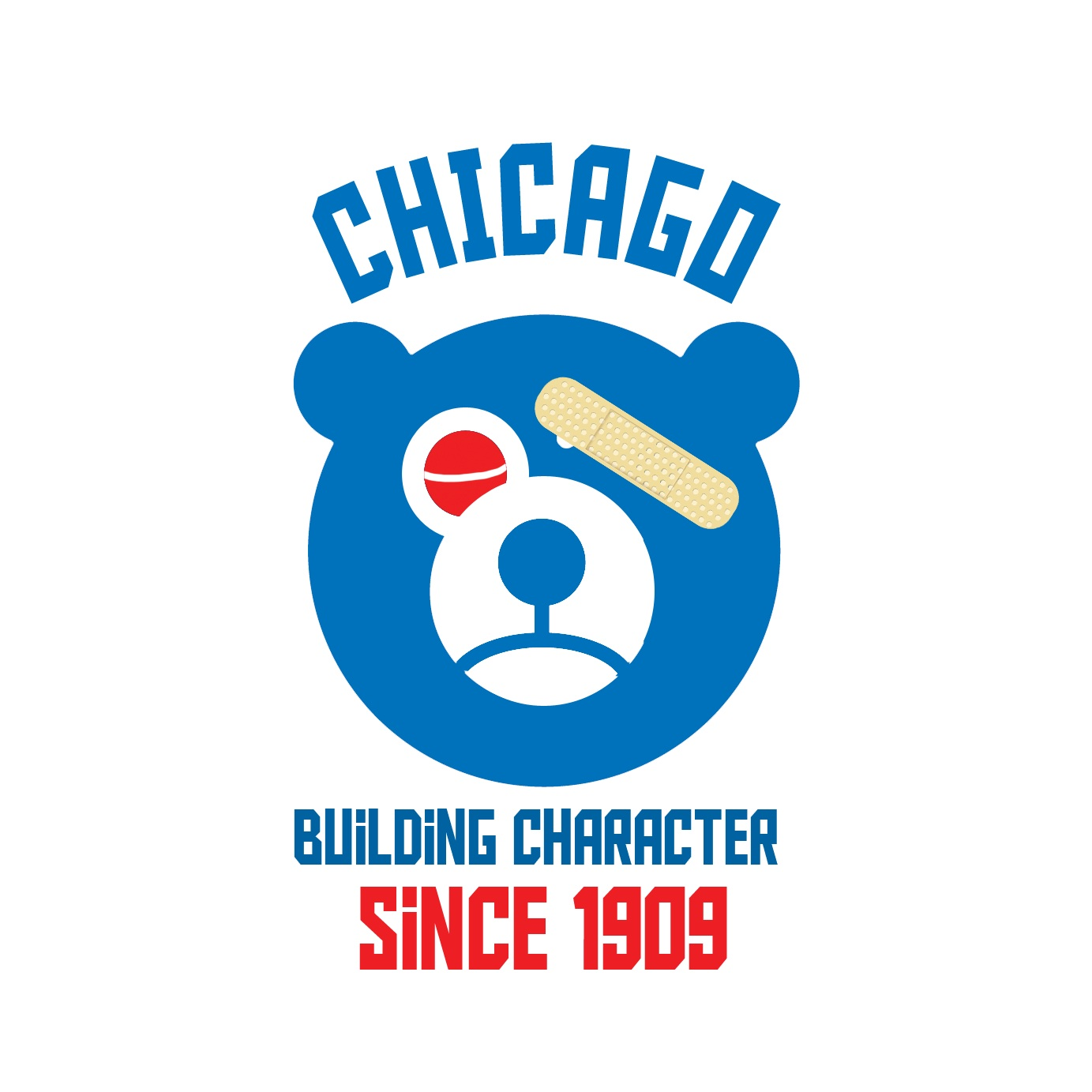 Chicago cubs building character since 1909 tshirt