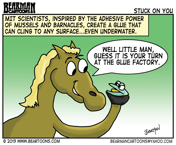 9-22-14-Underwater-Mussel-Glue-Bearman-Cartoons