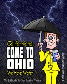 Ohio Tourism Board's Campaign to Attract California Visitors