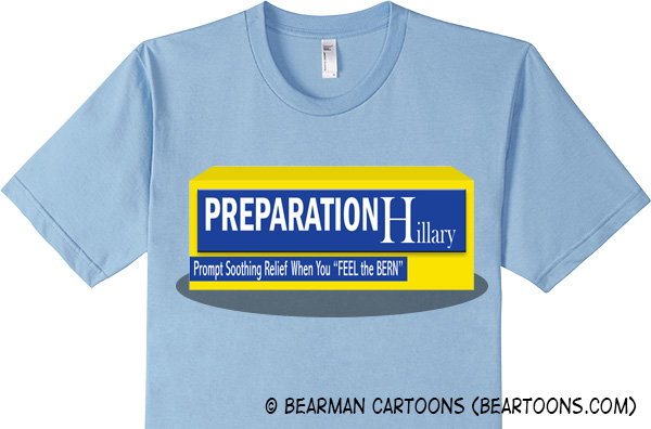 Preparation Hillary Tshirt