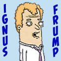 Ignus Frump Cartoon