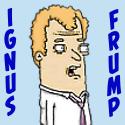 Ignus Frump Cartoon