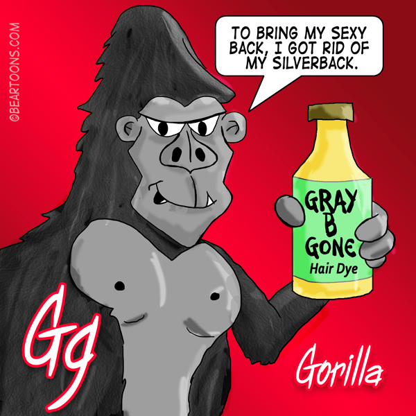 G-is-for-Gorilla-Animal-Alphabets-Bearman-Cartoons