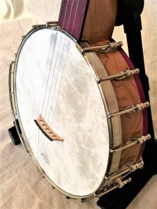 Banjo #004 – Cherry / Purpleheart