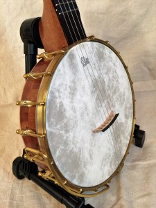 Banjo #005 – Sapele / Wenge with brass rod tone ring