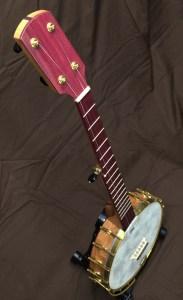 Banjo 008 Cherry Purpleheart Dobson Tone Ring