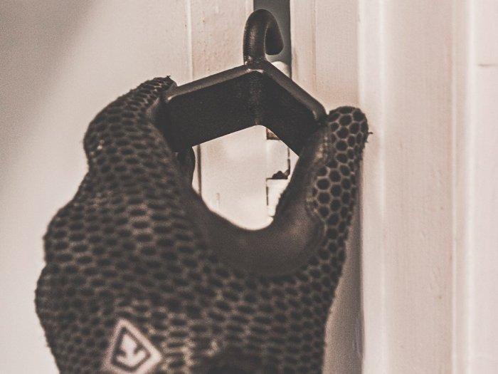 Bear Training Solutions Door Hook - photo of the door hook in action
