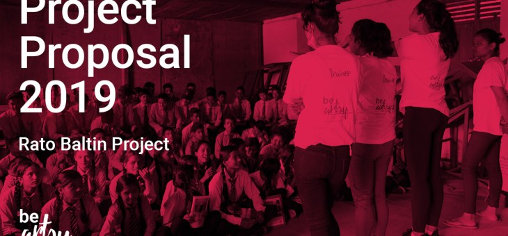 Project Proposal for 2019
