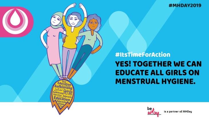 #Menstrual Hygiene Day 2019