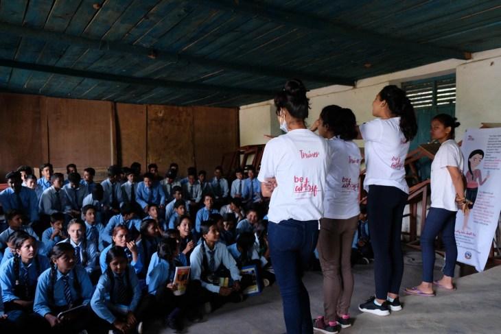 Teaching in Oligaun 2018