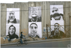 28 Millimètres, Face2Face, Séparation Wall Detail, Security Fence, Palestinian Side, 2006
