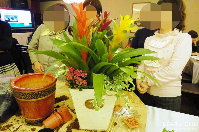 過年佈置DIY組合盆栽鳳梨_20110120-172256.JPG