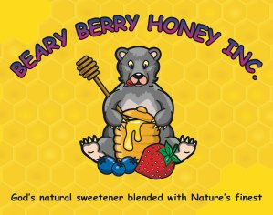 Beary Berry Honey Logo