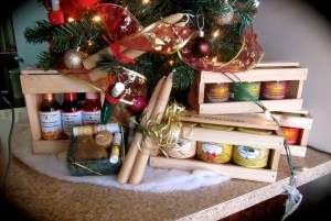Christmas Gift Boxes of Beary Berry Honey and Vinaigrettes