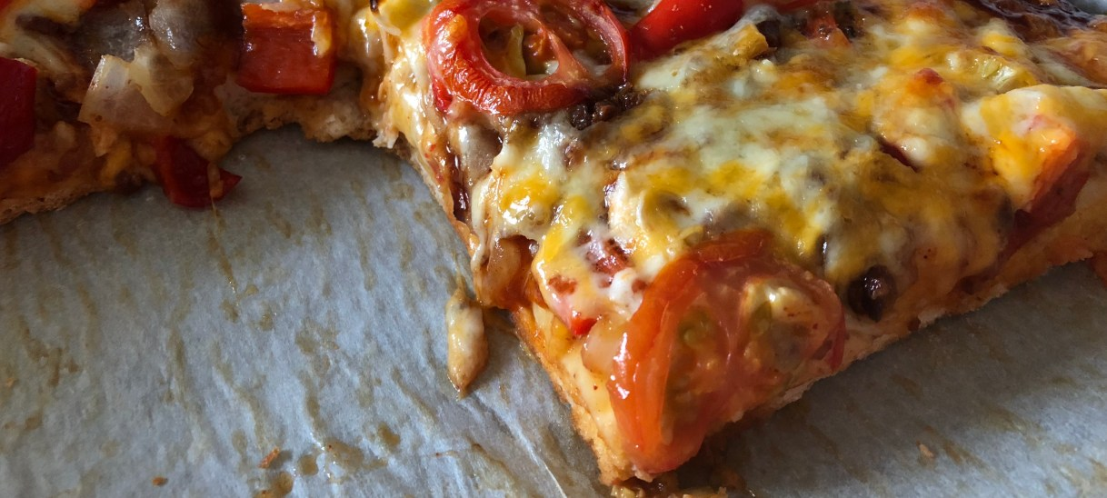 Chipotle BBQ Chicken Pizza