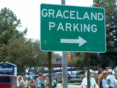 Graceland Parking Lot!