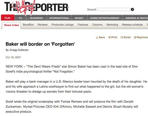 Reporter story (online version)
